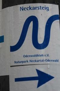 neckarsteig, logo, bad Wimpfen, Heidelberg, wanderreise, wandern, Trekking, Gepäck, Service