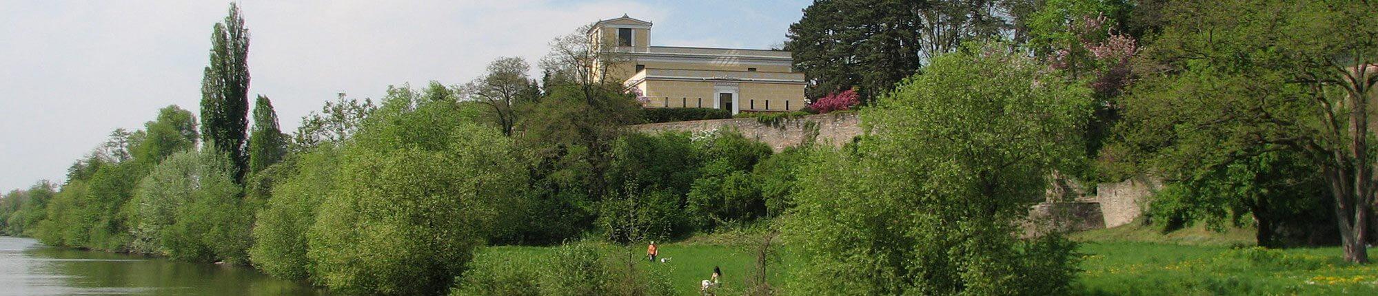 Pompejanum, Aschaffenburg, Main, Unterfranken, Spessart, Main Radweg, Radreisen